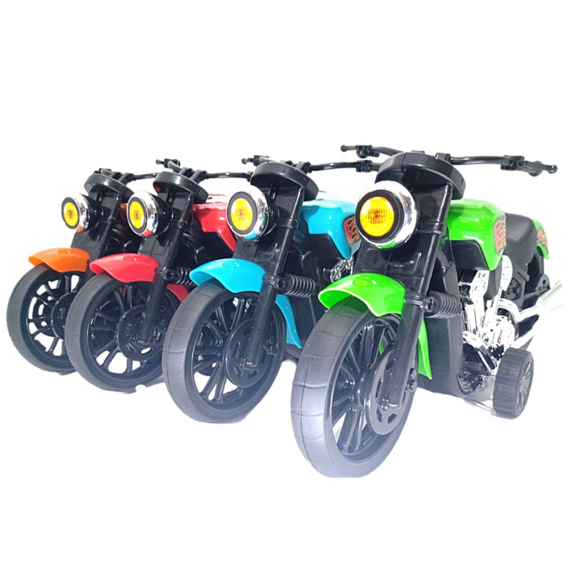 Moto de Brinquedo Chopper Action Infantil 4 cores