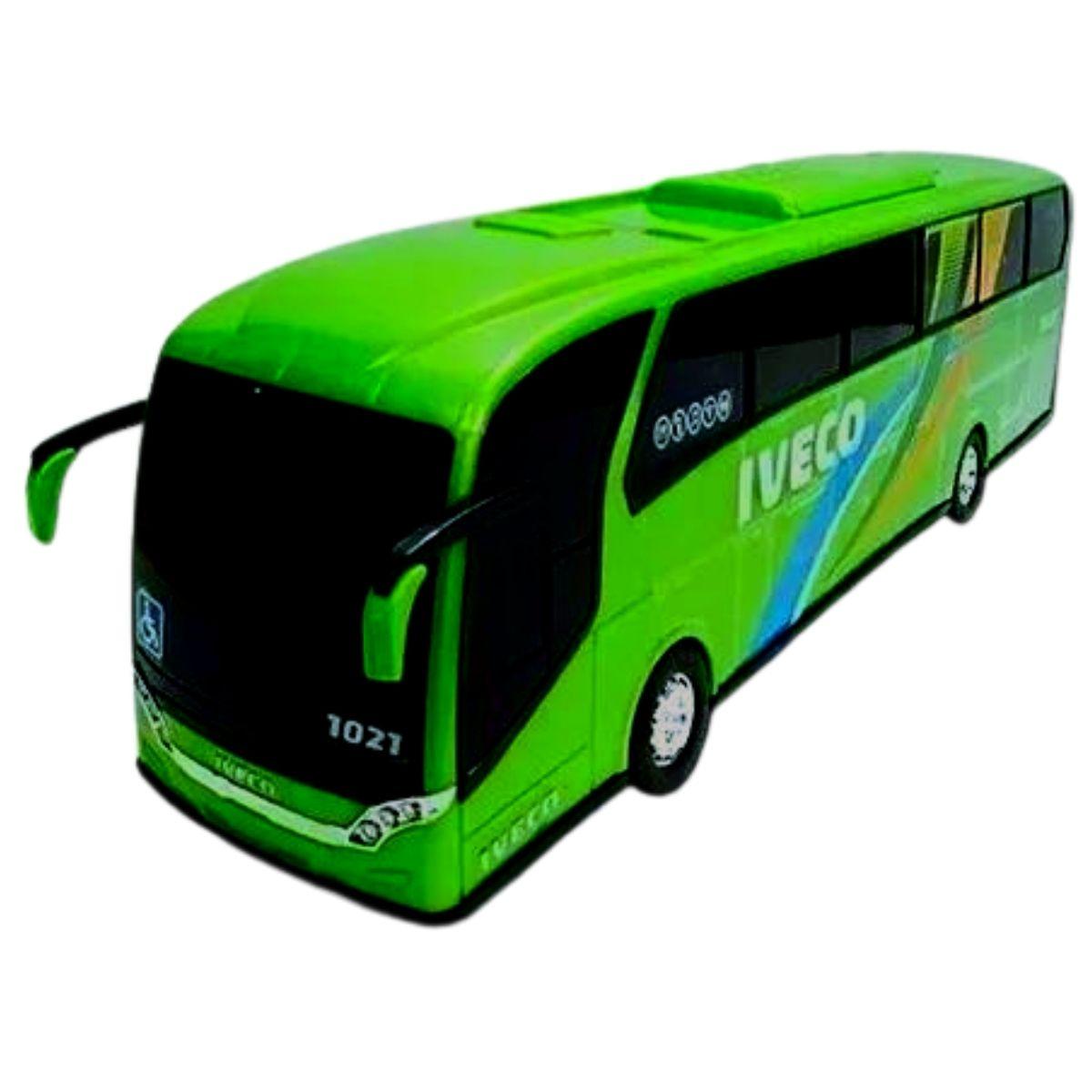 Ônibus Iveco Usual 42cm Carrinho Brinquedo - Usual