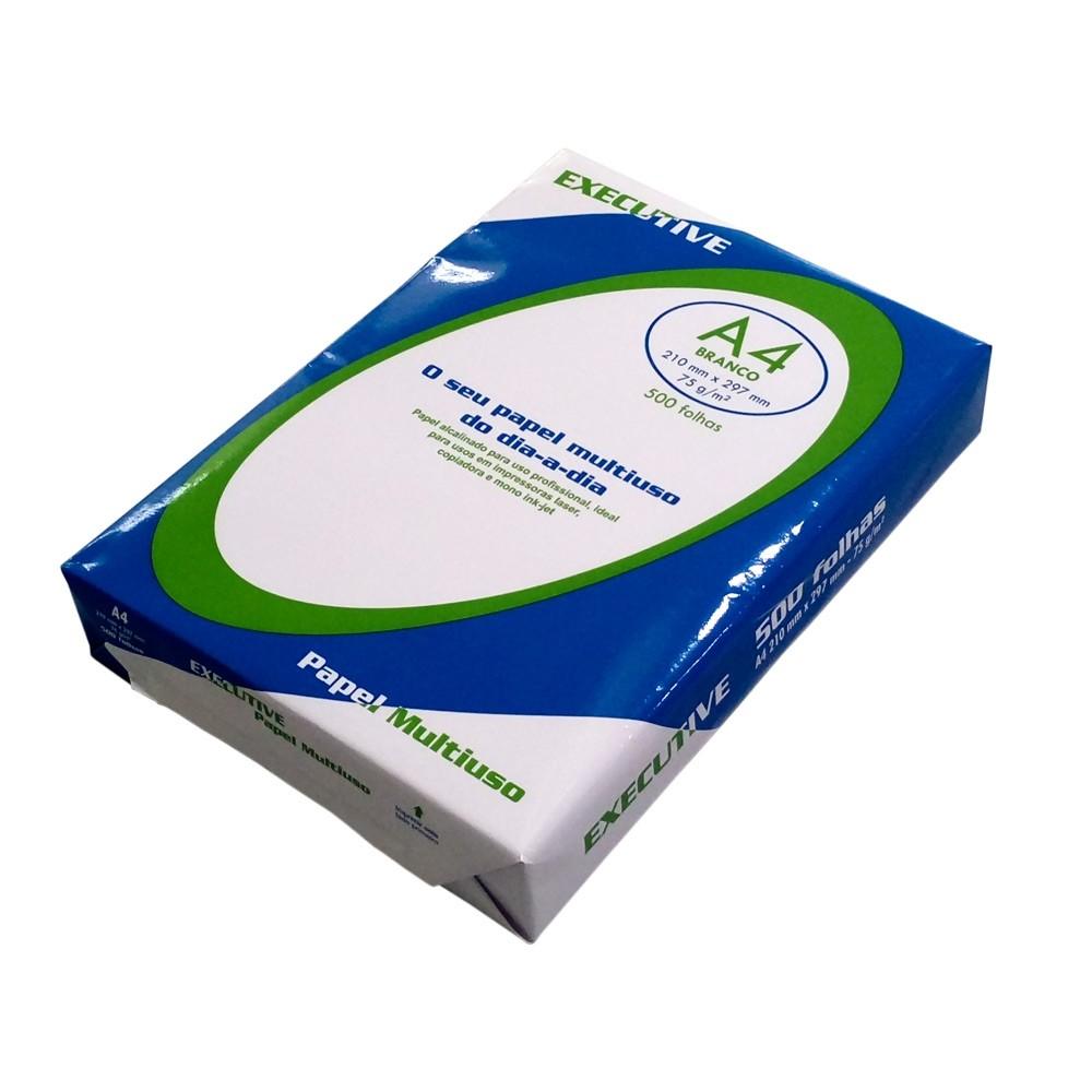 Papel sulfite A4 Pacote 500 folhas executive