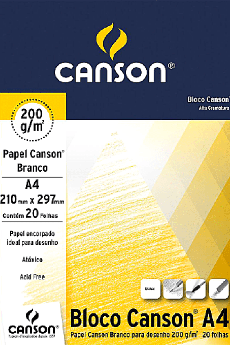 Papel Canson A4 200 g/m² - Canson