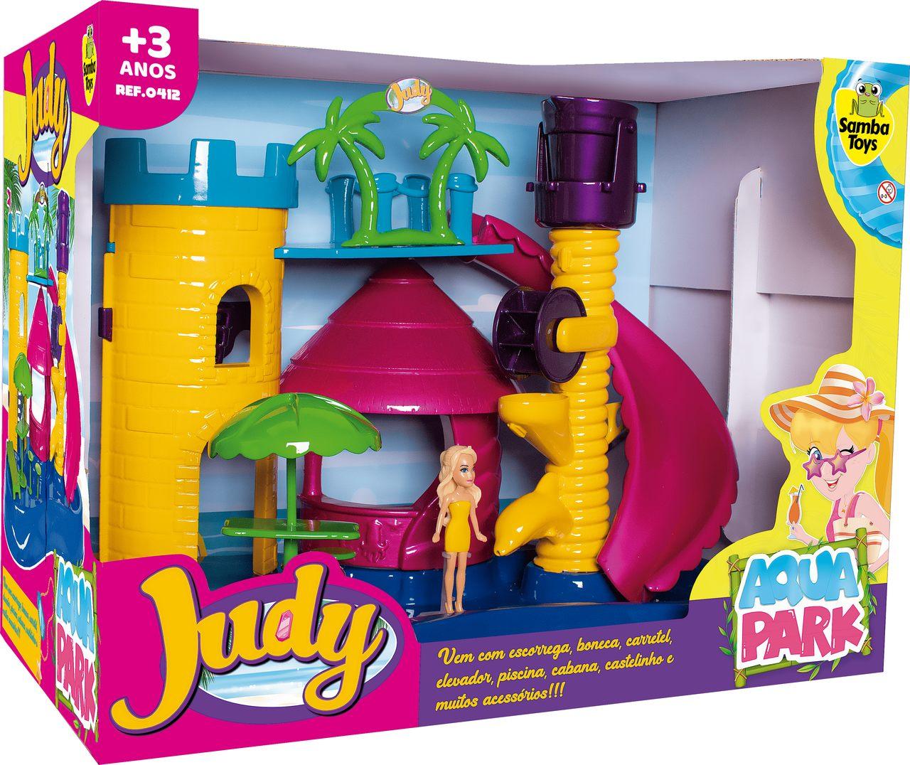Parque Aquático Infantil da Judy Samba Toys  Ref.: 0412