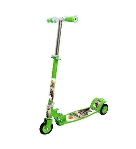 Patinete Infantil 3 rodas dinossauro - DM Radical