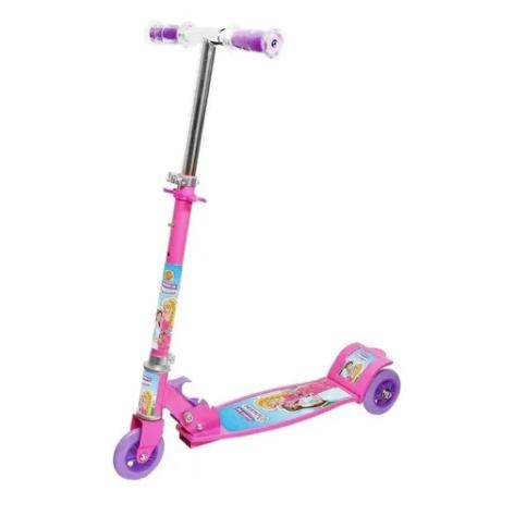Patinete Infantil 3 rodas sonho de princesa - DM Radical