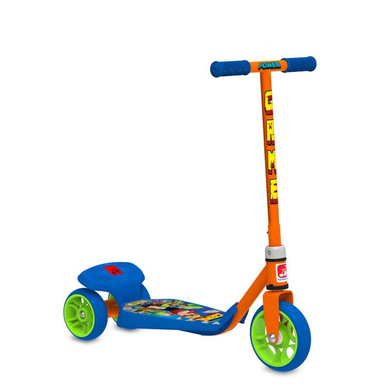 Patinete Power Game Infantil Freio Traseiro 40kg Bandeirante lindo