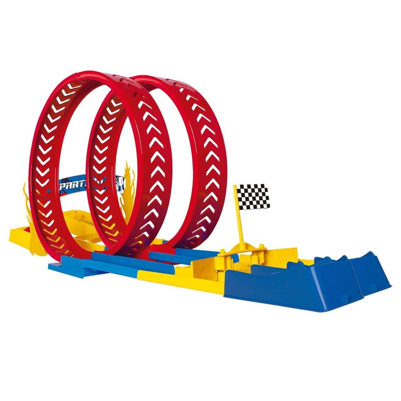 Pista de Corrida Race Looping Challenge Desafio Duplo Samba Toys  Ref.: 0381