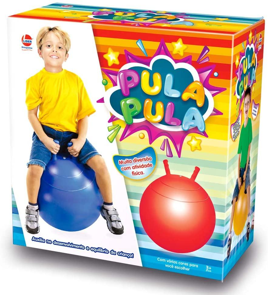 Pula Pula Bola Radical Lider Brinquedos