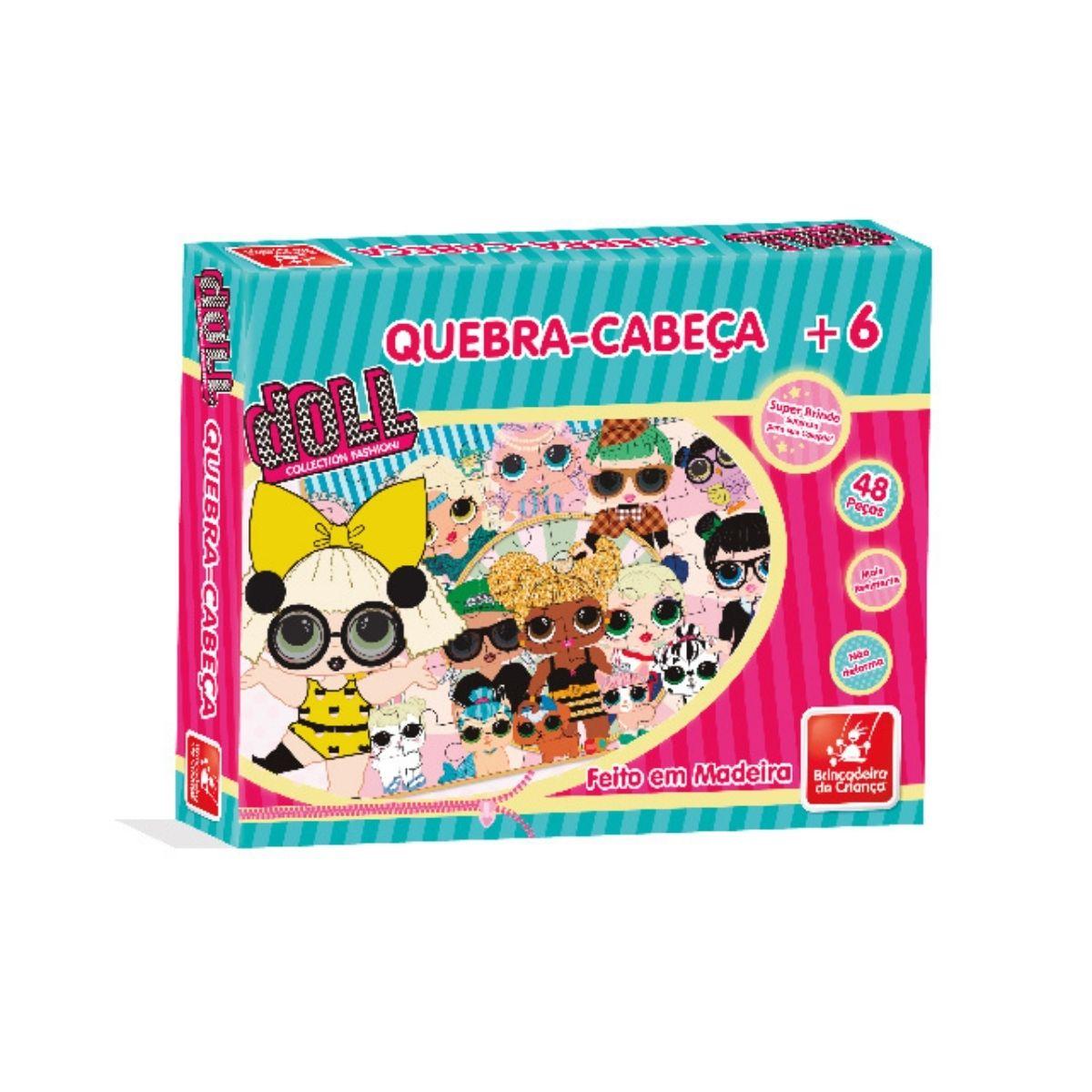Quebra Cabeça 48p Little Dolls