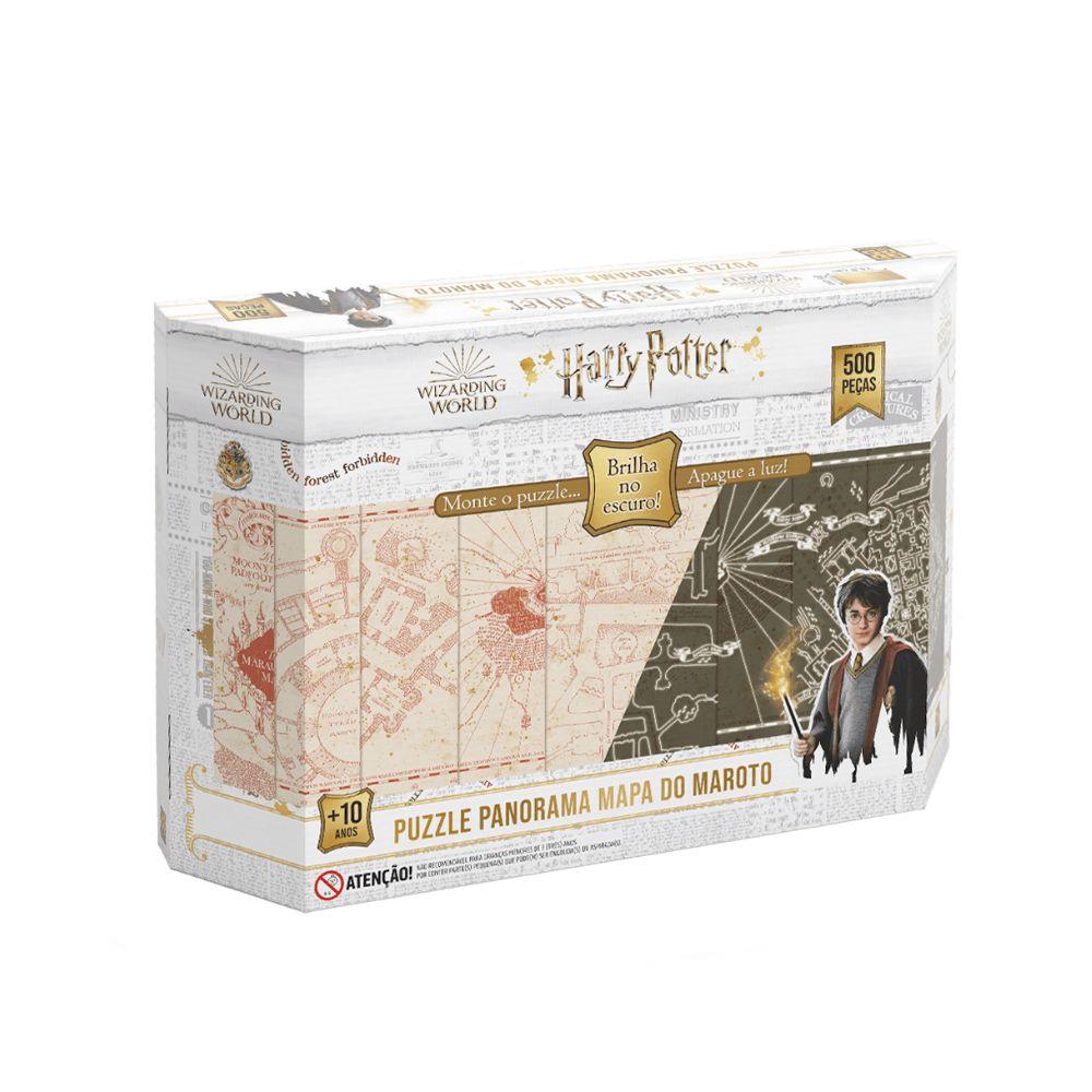 Quebra cabeça de 500 peças Panorama Harry Potter - GROW