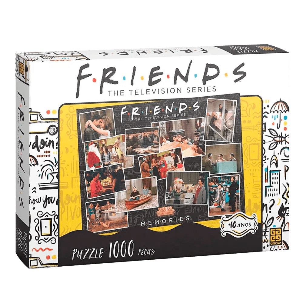 Quebra-Cabeça Friends Memories 1000 Peças Grow