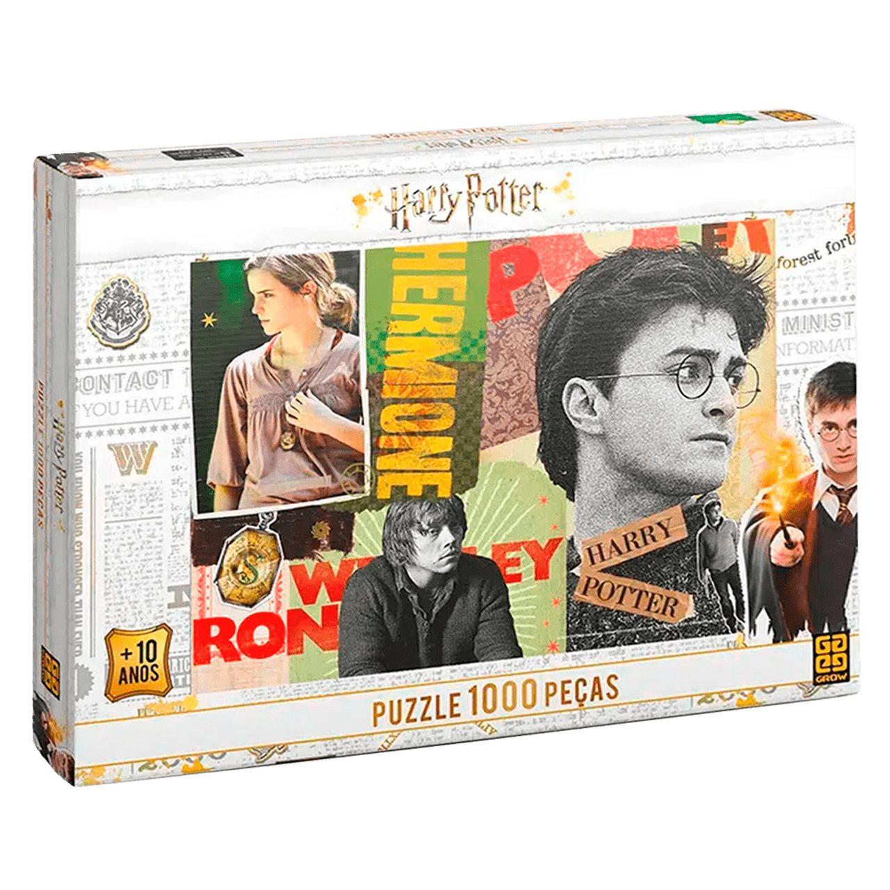 Quebra-Cabeça Harry Potter 1000 Peças Grow