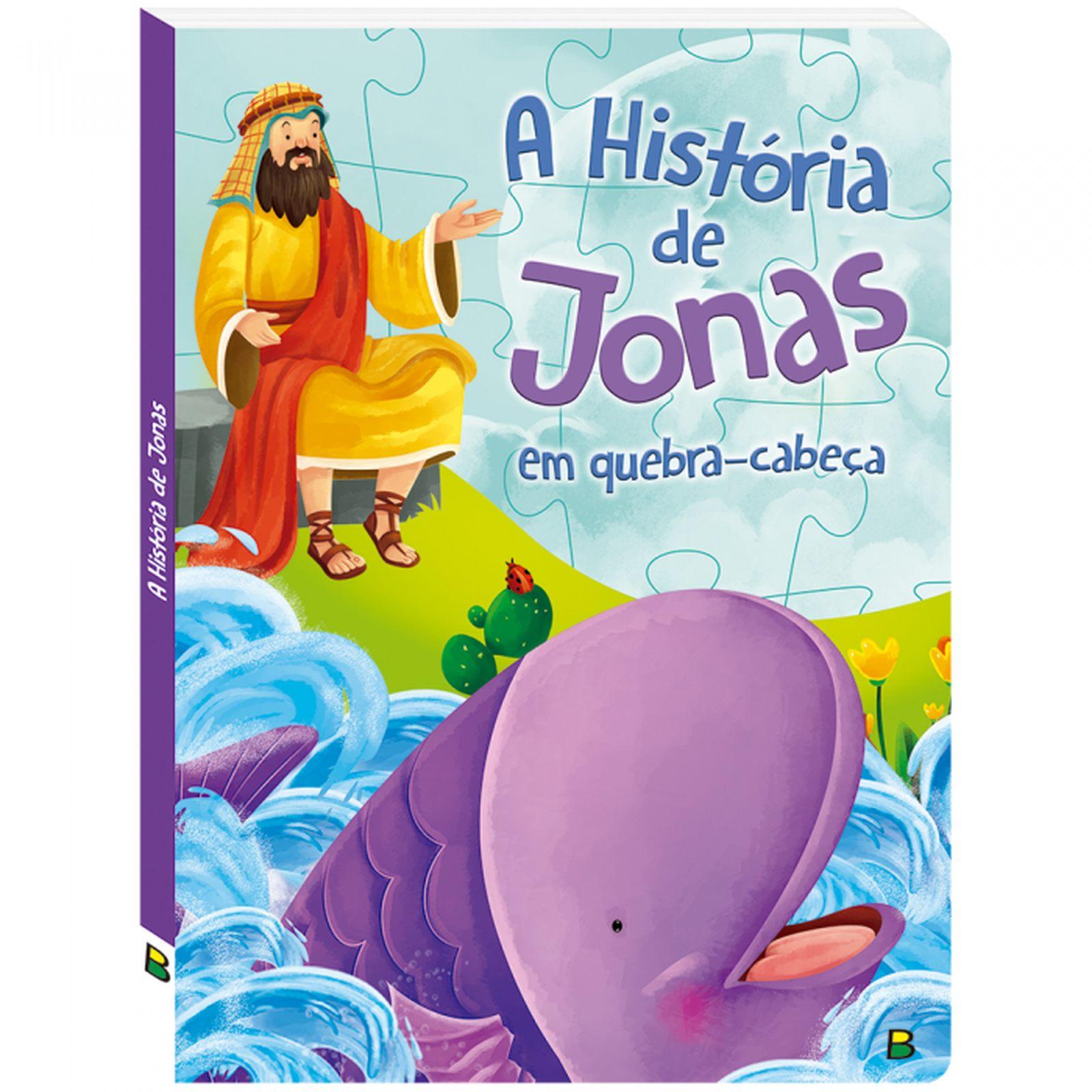 Livro Quebra Cabeça Historias Bíblicas: A História De Jonas