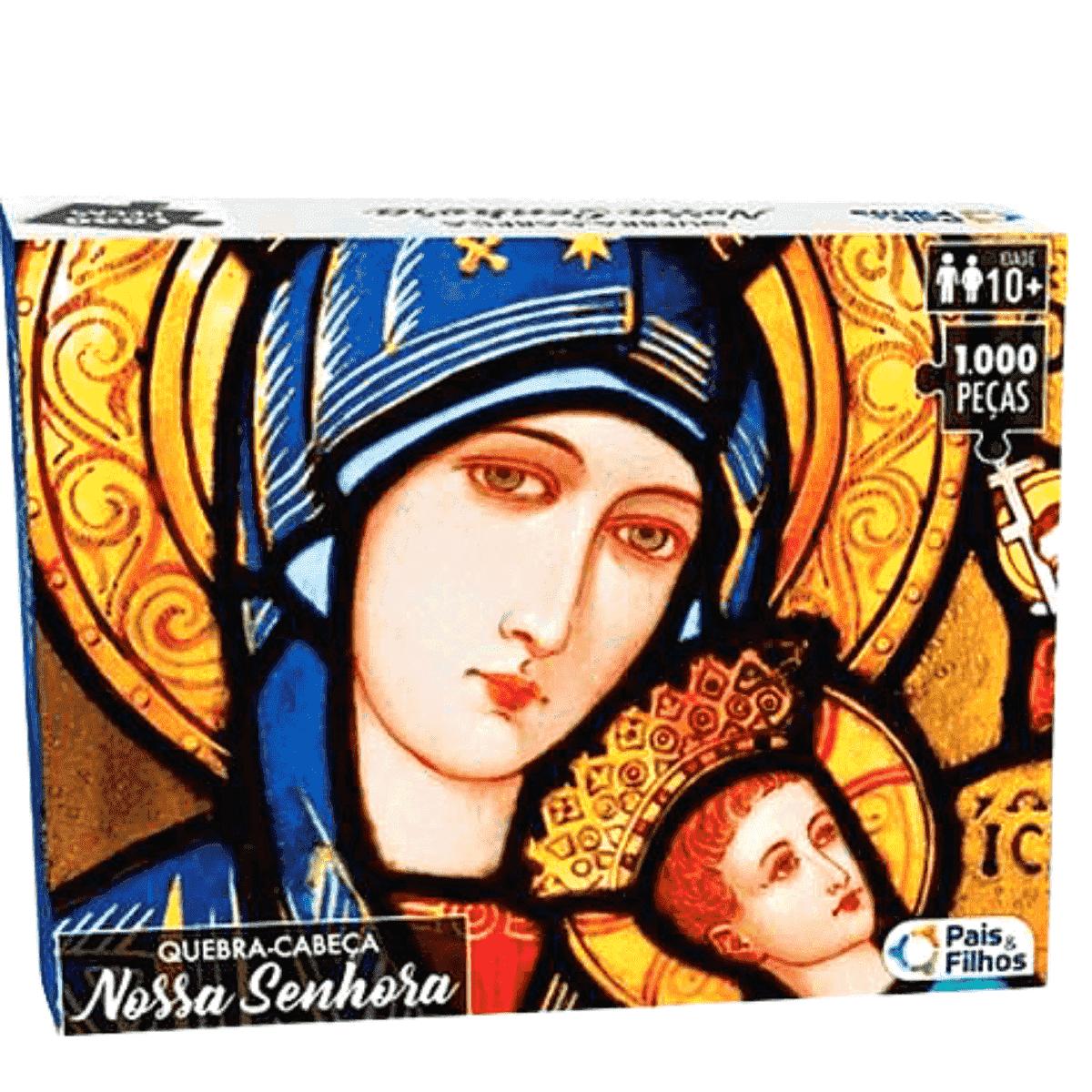 Quebra-Cabeça Nossa Senhora 1.000 peças PREMIUM