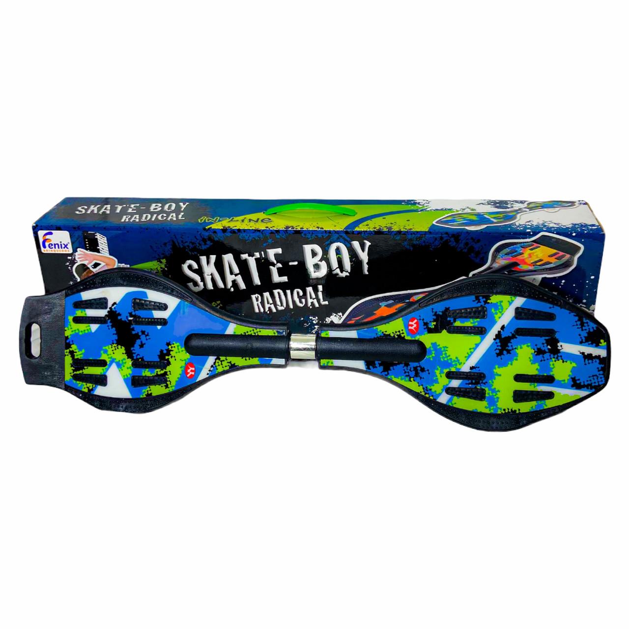 Skate Boy Radical 2 Rodas Fenix