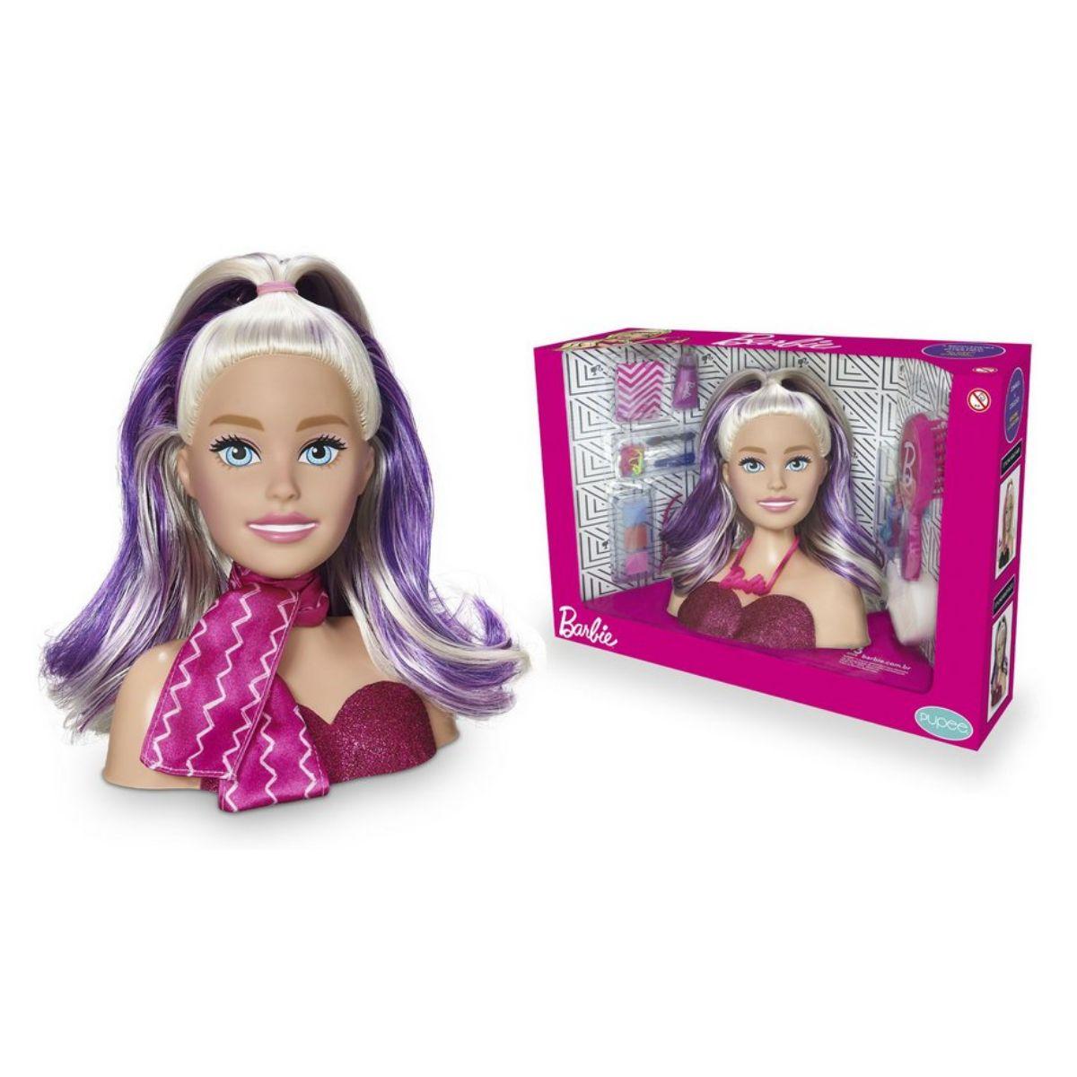 Styling Head - Faces - Barbie - Mattel