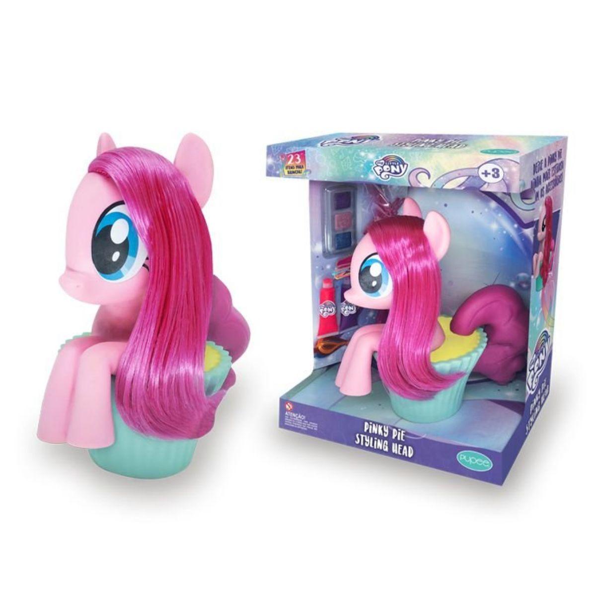 Styling Head Pinkie Pie - My Little Pony - Hasbro