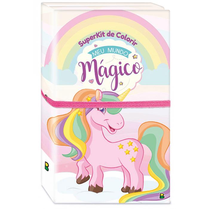 Superkit de Colorir Meu Mundo Mágico - Todolivro