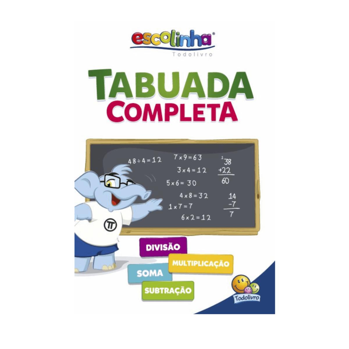 Tabuada completa - Todolivro