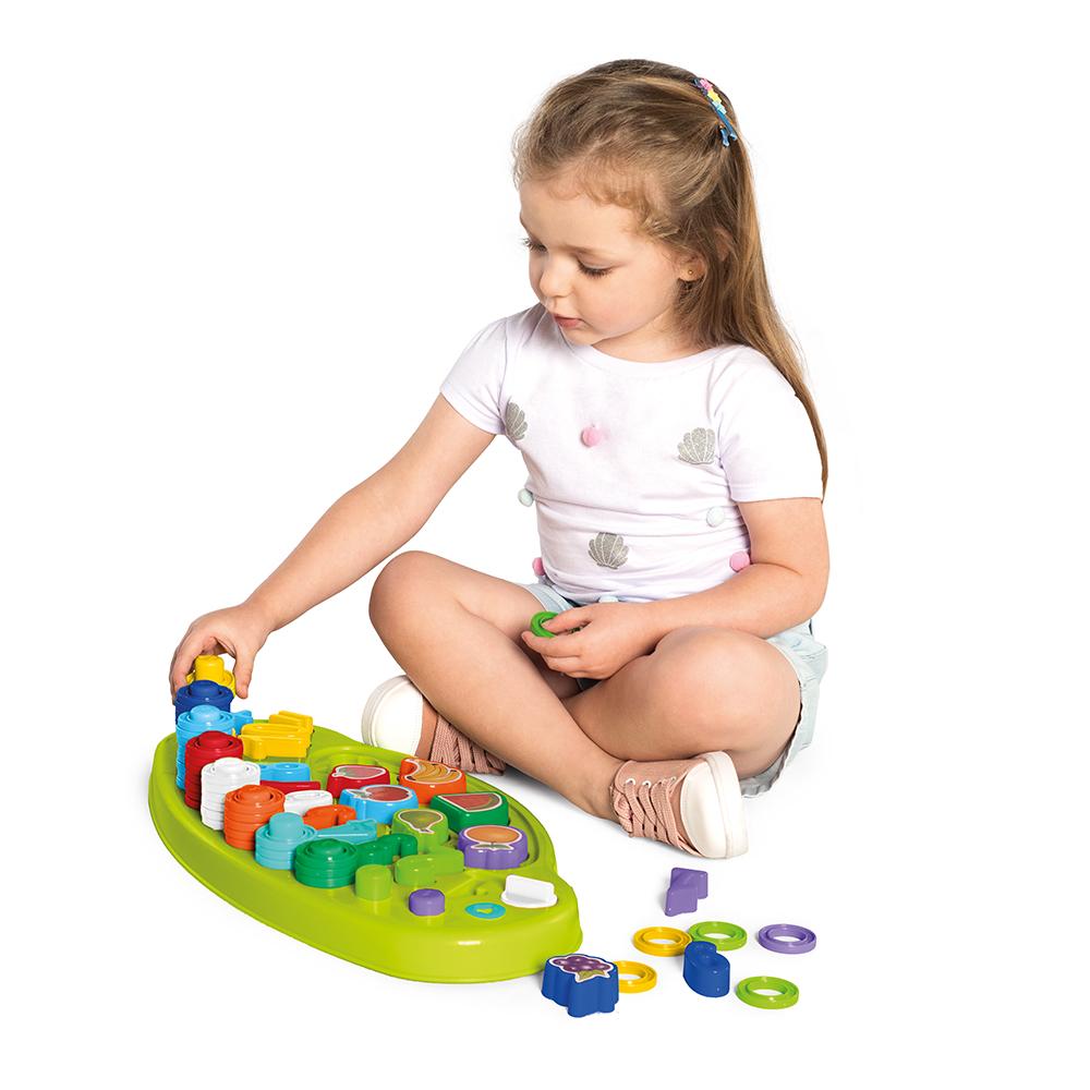 Tabuleiro Conta Fácil Brinquedo Educativo Números C/85 Peças - Tateti