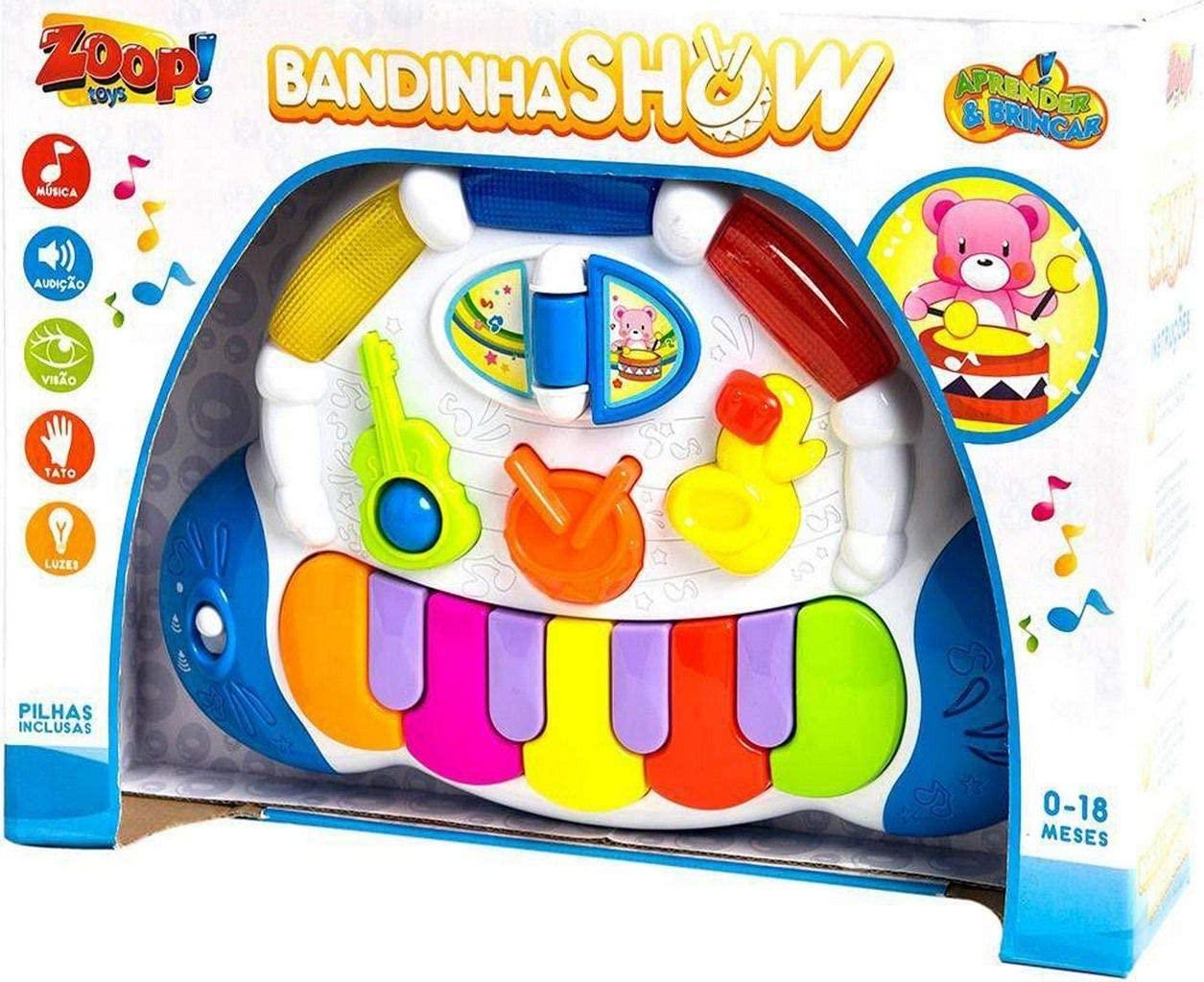 Teclado Infantil Bandinha Show