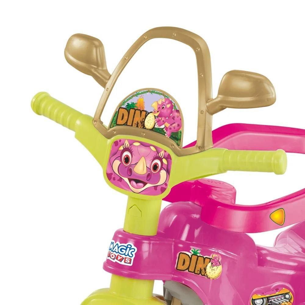 Tico-Tico Dino Pink - Magic Toys  - Tem Tem Digital