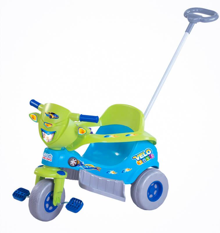 Tico-Tico Velo Toys Azul c/Capacete - Magic Toys  - Tem Tem Digital