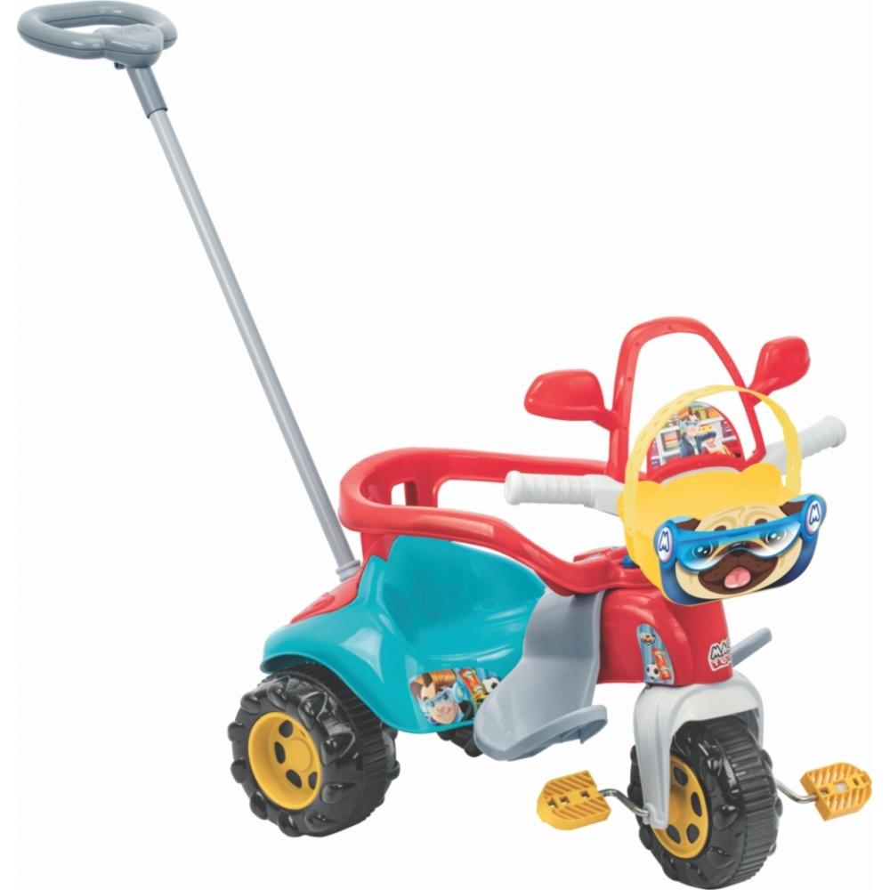 Triciclo Infantil Grande Motoca - Zoom Max Com Aro