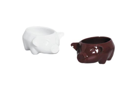 Tigela Bowl porco Cerâmica