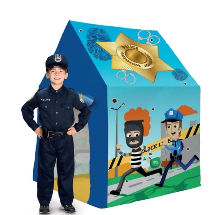 Toca Barraca Infantil Policia 115 X 85 Bang Toys