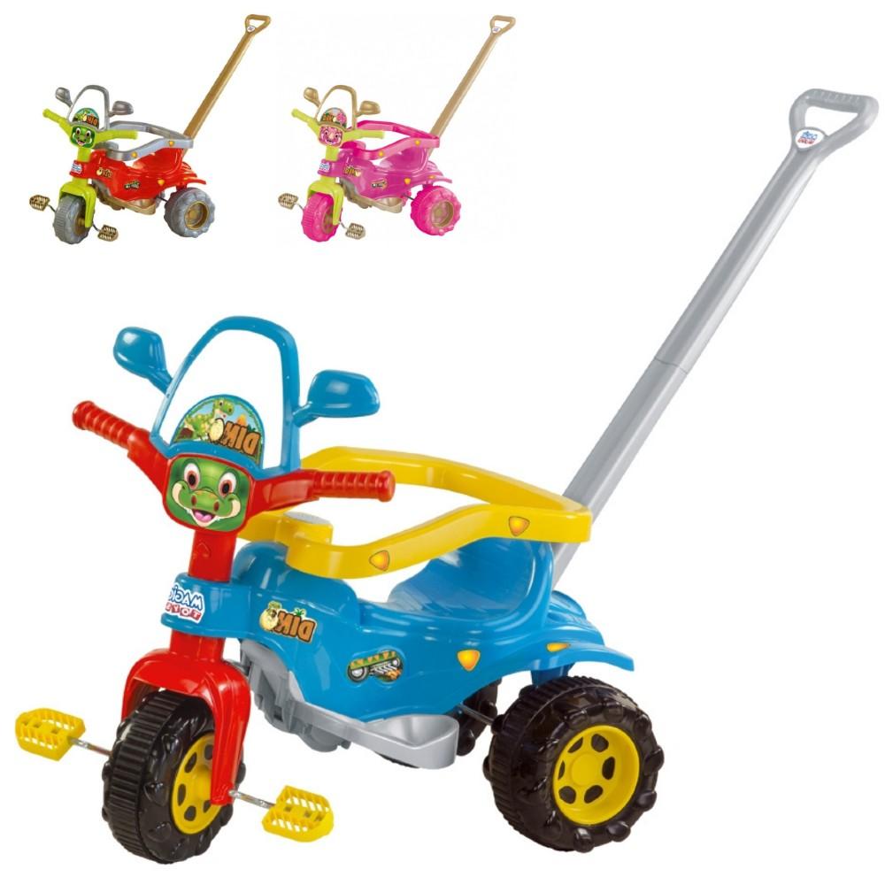 Triciclo Infantil Grande Motoca Dino - Magic Toys