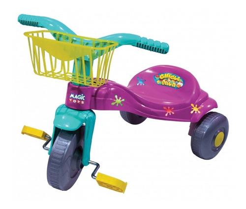 Triciclo Infantil Motoca Bala Diversão E Aventura