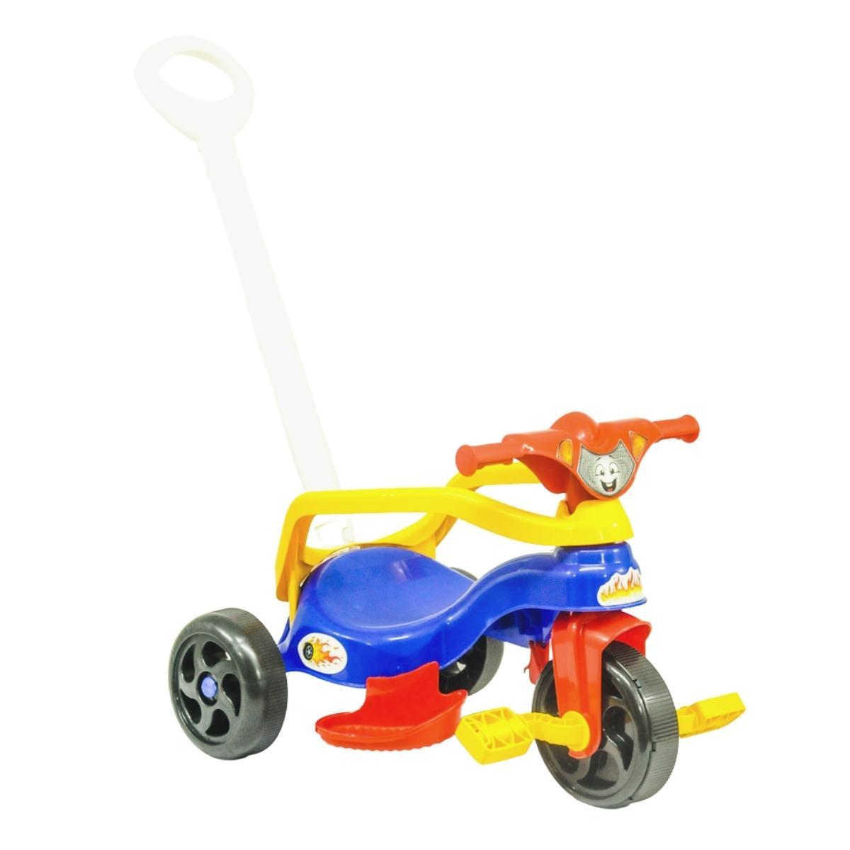 Triciclo Velotrol Infantil Completo Haste Empurrar