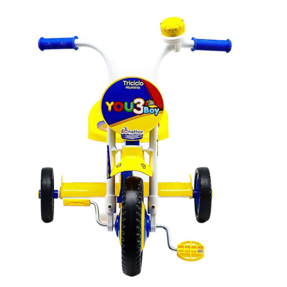 Triciclo You 3 Boy Azul