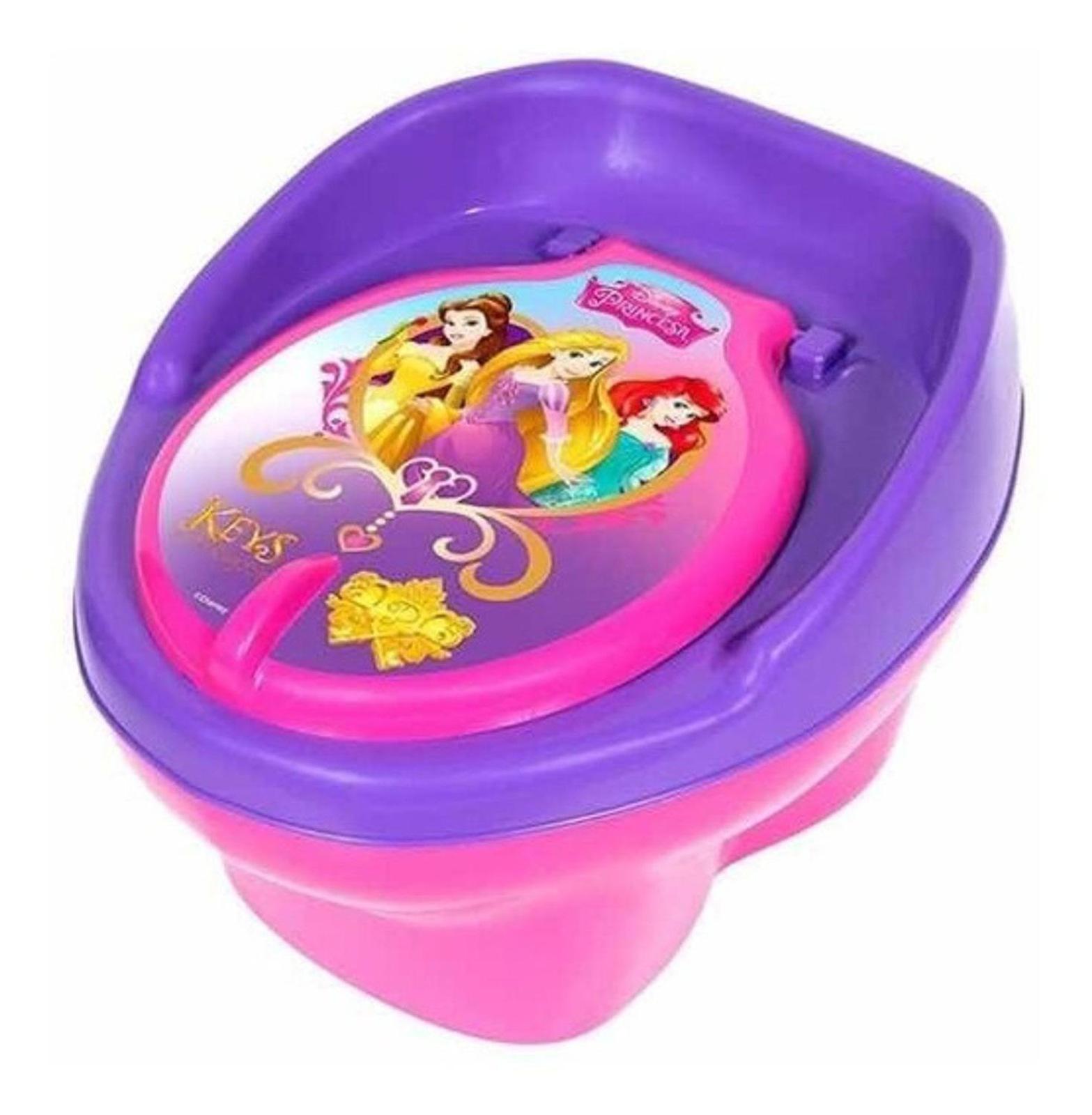 Troninho Princesas Disney Pinico Lilas Infantil Meninas Styl