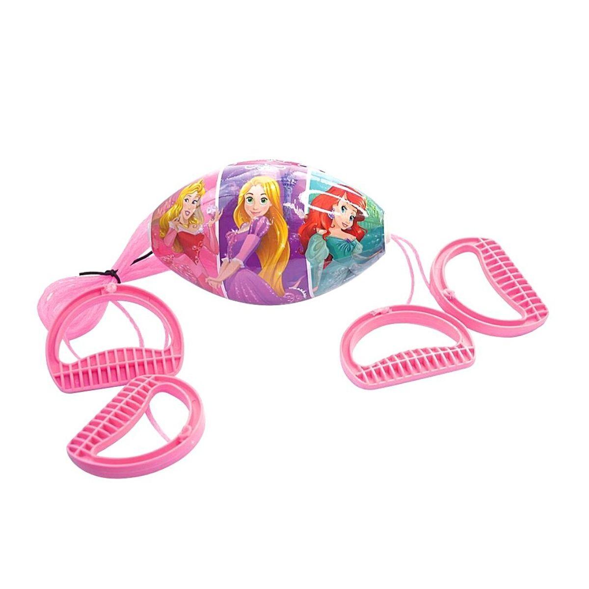 Brinquedo Vai e Vem Divertido Princesas Disney Rosa