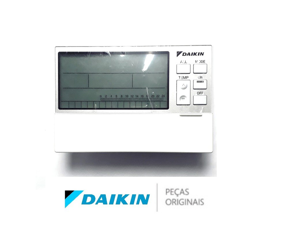 CONTROLE REMOTO CENTRAL P/ RESIDENCIA DAIKIN