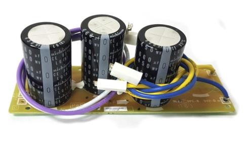 PLACA CAPACITOR DA CONDENSADORA FUJITSU AOBA30LBTL / AOBA36LBTL / AOBA36LFTL / AOBG30JFTB / AOBG30LFTB / AOBR30JFT / AOBR30LFT - 9707257021 / 9709894002 (ABXS)