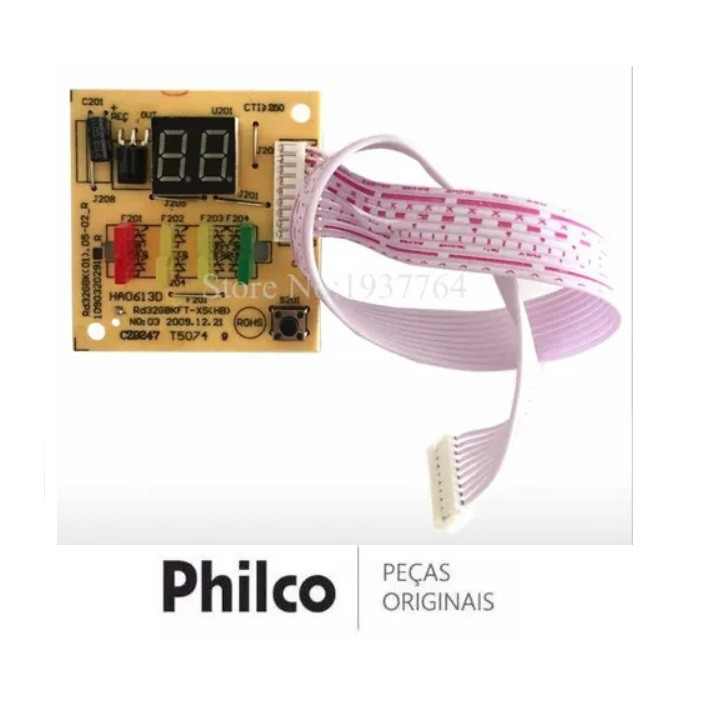 PLACA DISPLAY AR CONDICIONADO PHILCO