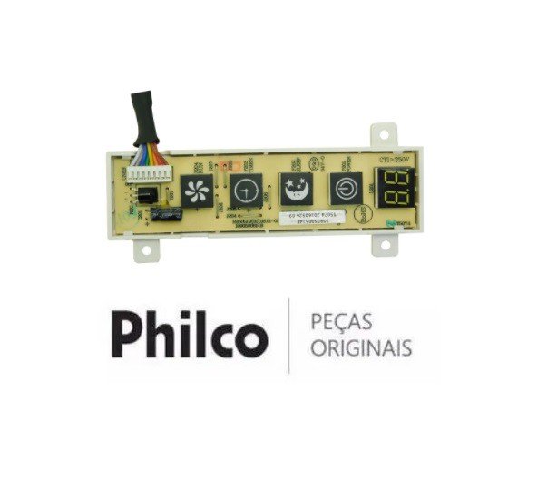 PLACA DISPLAY AR CONDICIONADO PHILCO
