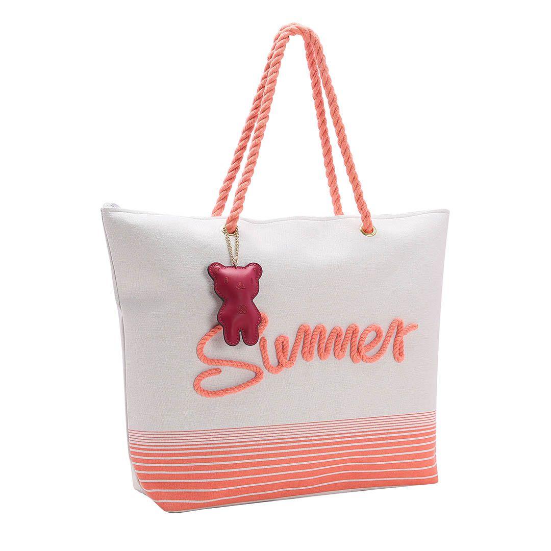 Bolsa Feminina Praia Salmão Summer Chenson