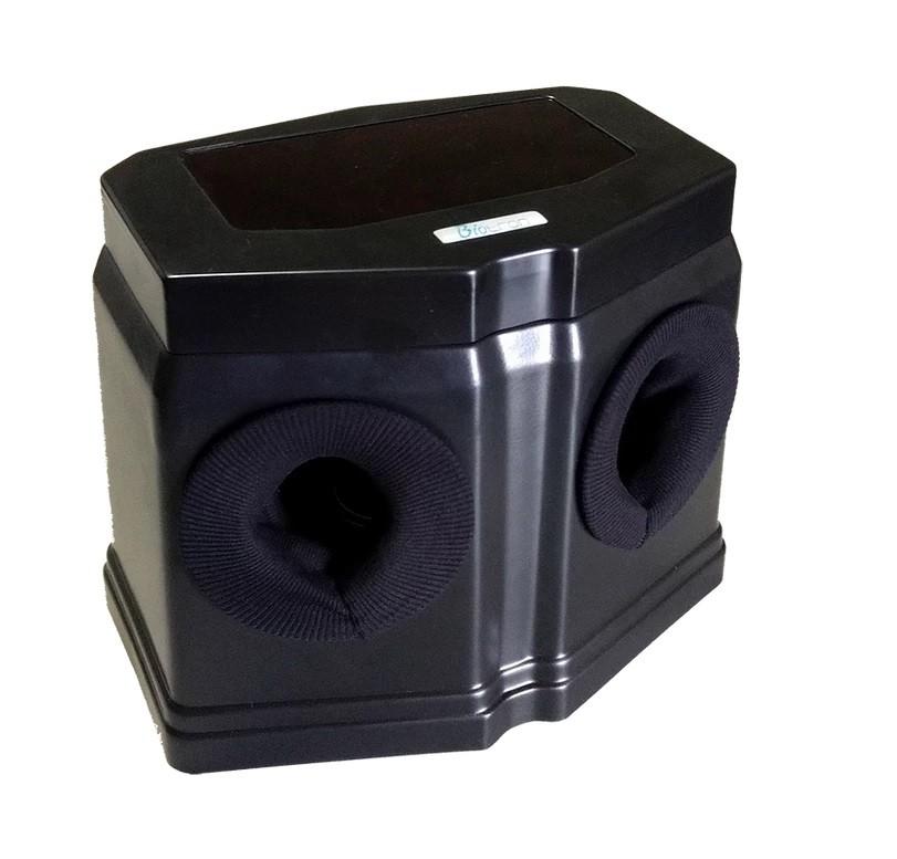 Câmera de Revelação Classic Black sem iluminação