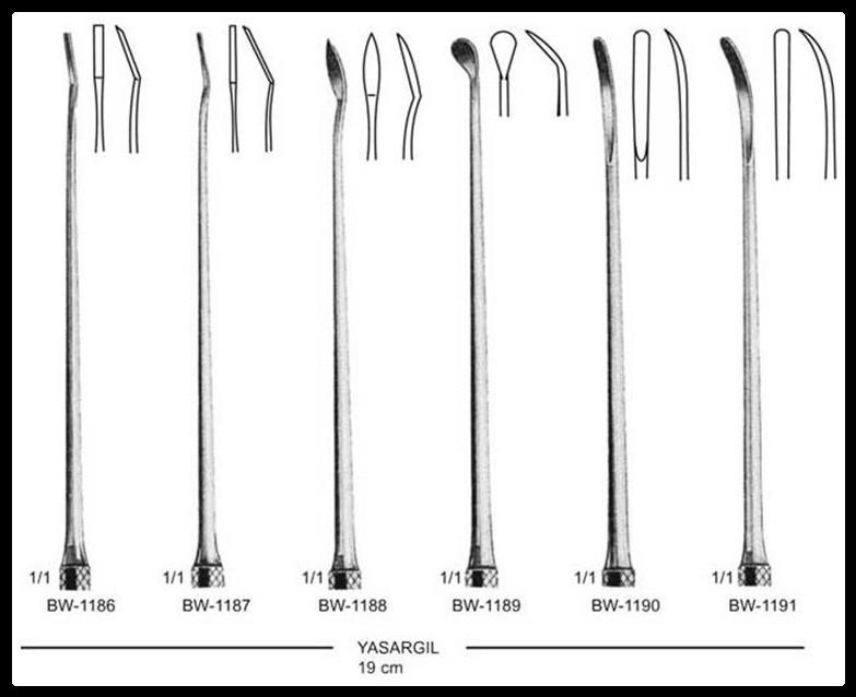 Dissector Micro Yasargil 19cm