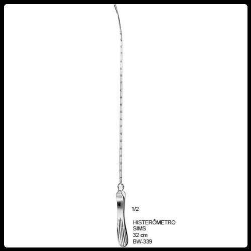 Histerômetro Sims 32cm