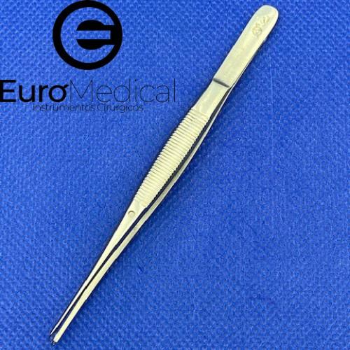 Pinça Elsching com dente de rato reta 10cm  - Veterinária