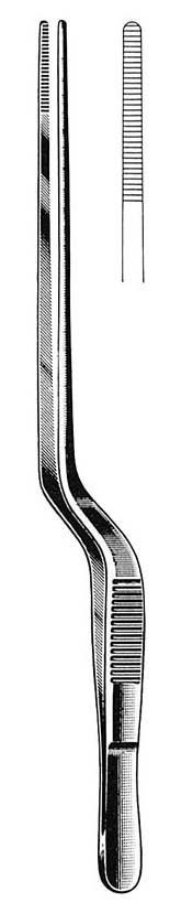 Pinça Gruenwald (Jansen) baioneta 20cm