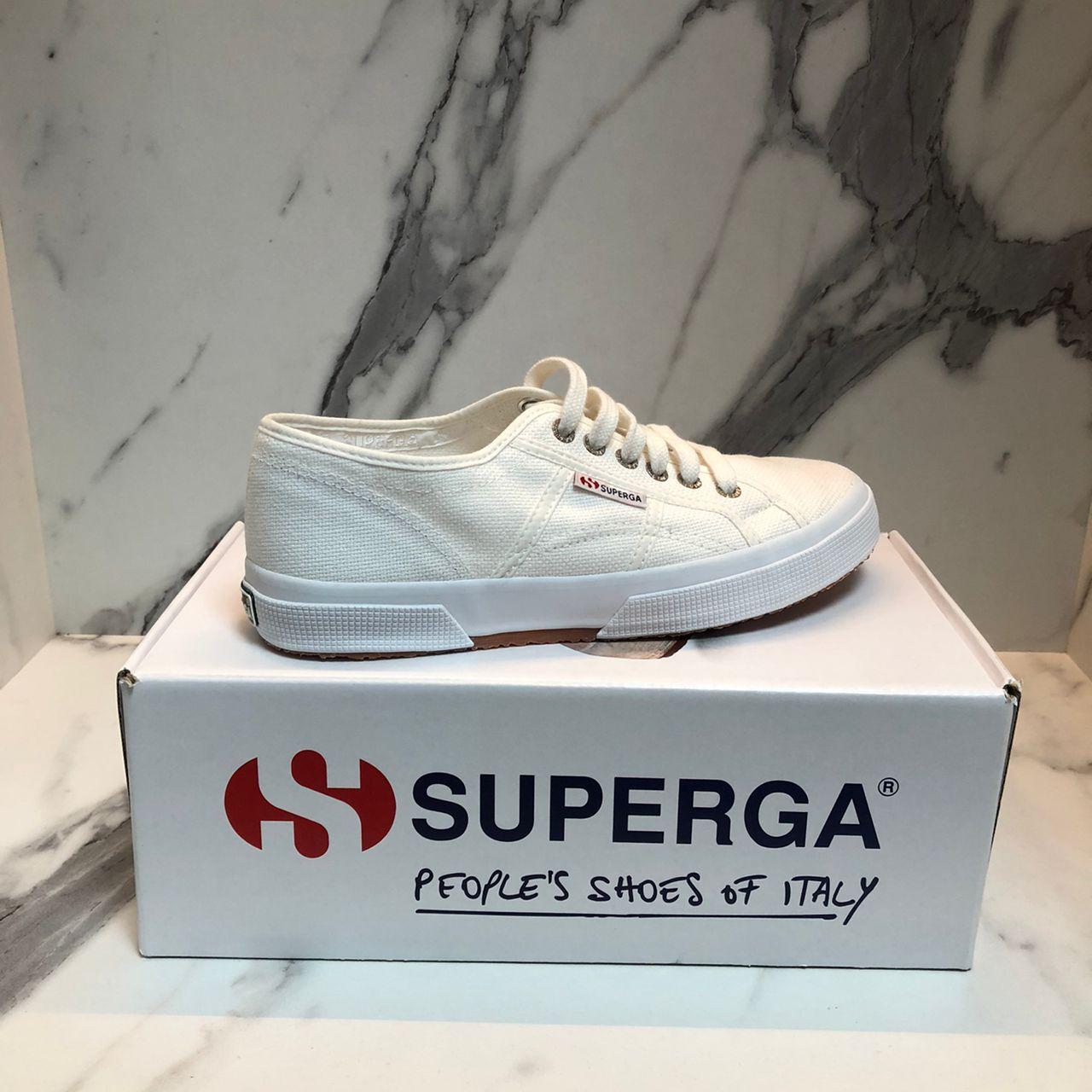 SUPERGA WHITE