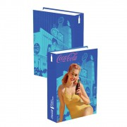 Caixa Livro Coca-Cola Pin Up Yellow Bathing Suit  25x17x4cm