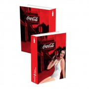Caixa Livro Pin Up Lady Brunette Coca-Cola 25cmx17cmx4cm