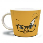 Caneca Looney Tunes Tweety Big Face  Ml Em Porcelana 320ml
