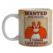 Caneca Looney Yosemite Wanted 300ml