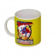 Caneca Porcelana DC Superman Colorido 300ml